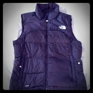 Chocolate brown The North Face Down Puffer Vest